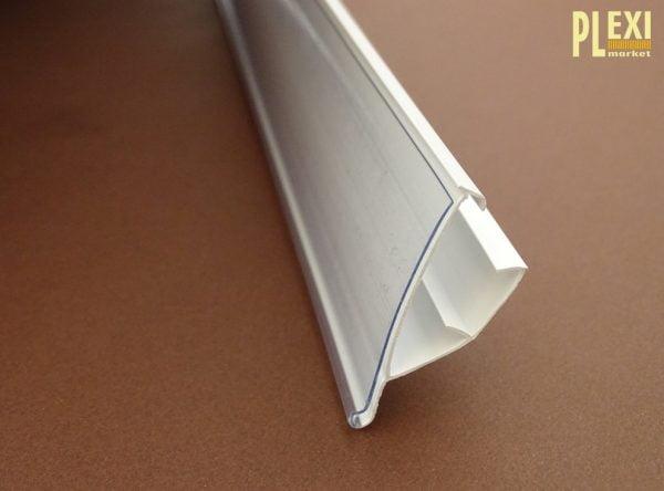 Șină de preț model Linde LS alb