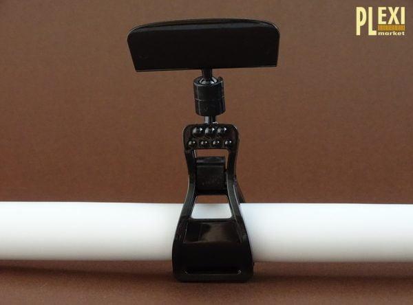 Suport etichete cu clema mare si cap 50 mm