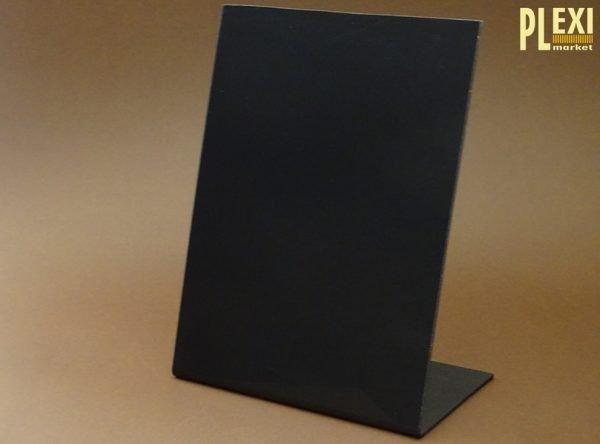 Suport aplecat tip tabla neagra HIPS A4