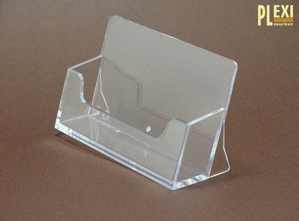 Suport din plexiglas pentru carti de vizita