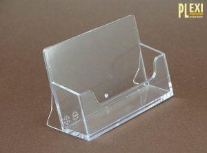 Suport plexiglas carti de vizita birou