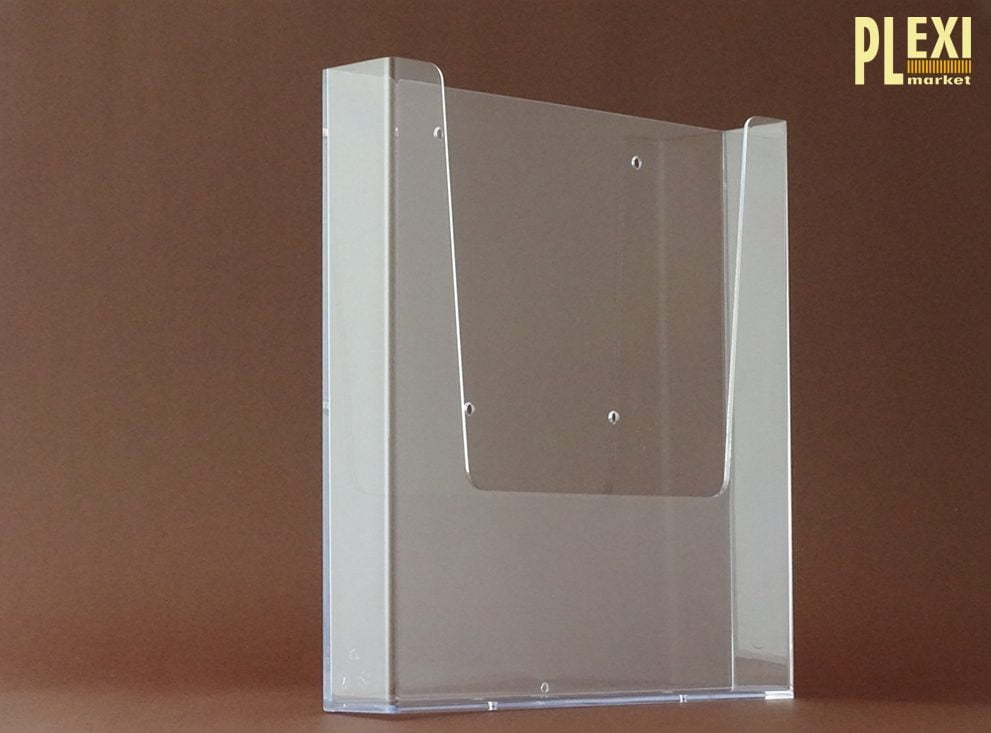 Suport plexiglas reviste si pliante A4