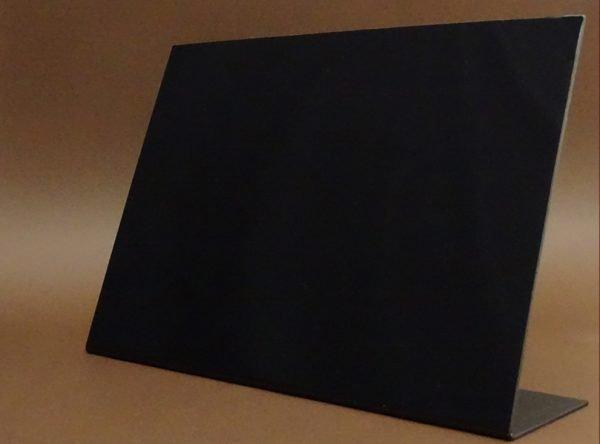 Suport A4 meniu tip tabla neagra