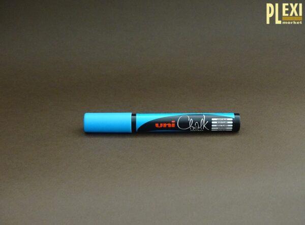 Marker creta lichida albastru