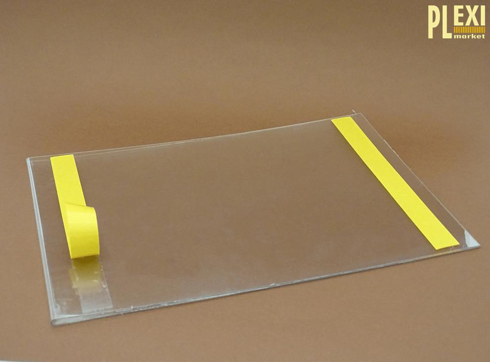 Suport cu bandă adezivă pentru afișe A4 portrait